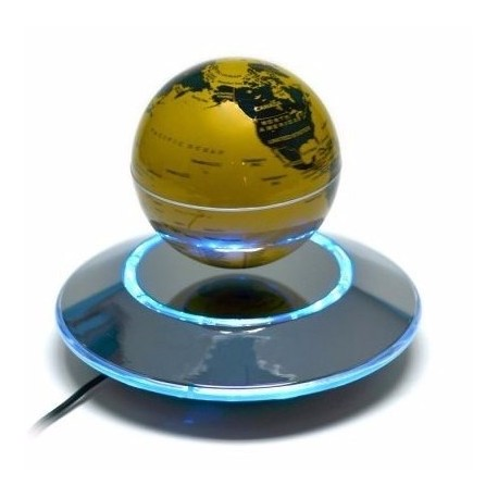 Globo terraqueo de levitacion magnetica decoracion mr for Globo terraqueo decoracion